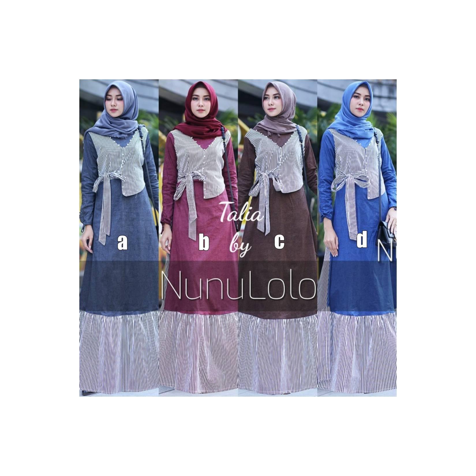 TALIA DRESS BY NUNULOLO