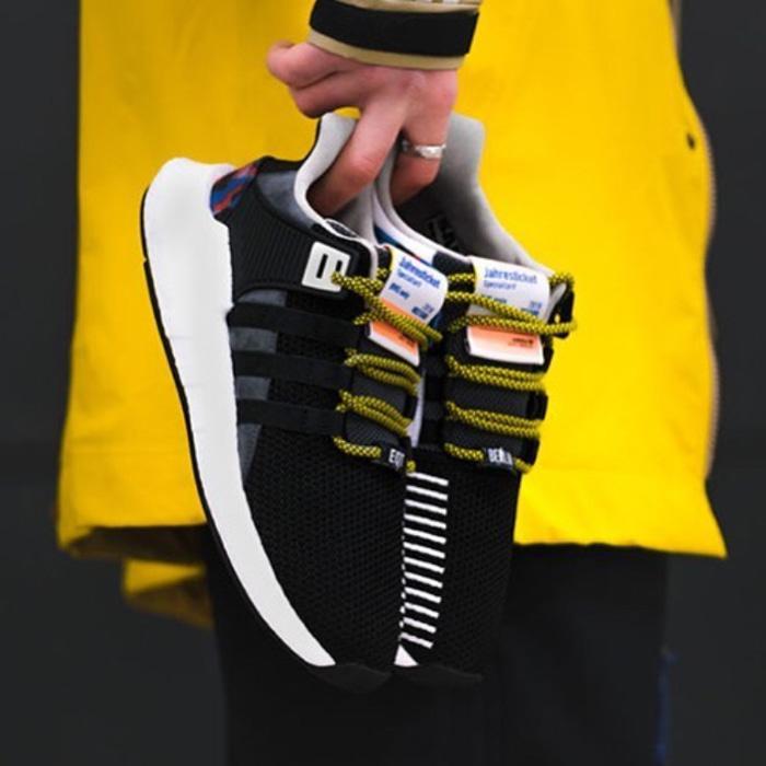 Diskon- Adidas Eqt Support 93/17 Overkill BVG Premium Original / sneakers