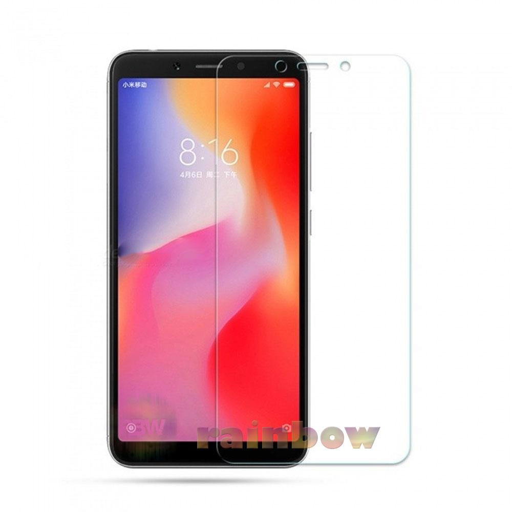 Rainbow Tempered Glass Xiaomi Redmi 6A Screen Protector Xiaomi Redmi 6A Temper Xiaomi Redmi 6A / Tempered Xiaomi Redmi 6A Pelindung Layar Hp / Anti Gores Kaca / Screen Guard / Temper Glass Redmi 6A - Clear