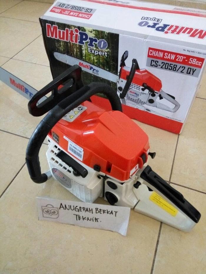Promo chainsaw senso mesin gergaji pohon kayu MULTIPRO 20