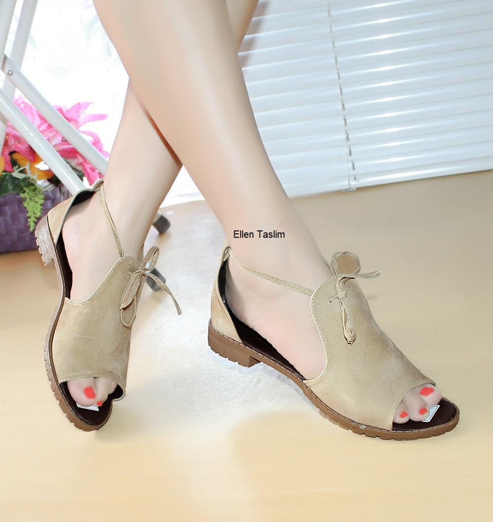 Promo Produk Terlaris Harga Termurah - Ellen Taslim AM.03 Kitten Heels Monita - Cream