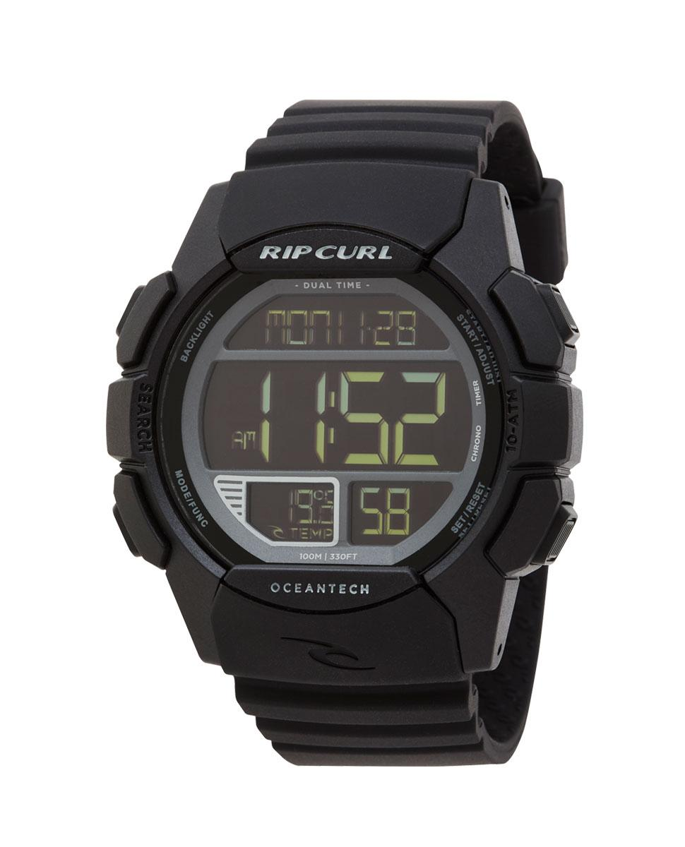 RipCurl Outdor Watch / Quick Silver Surfer Watch Drifter Digital Jam Tangan Pria Sport Rubber Strap New Arrival