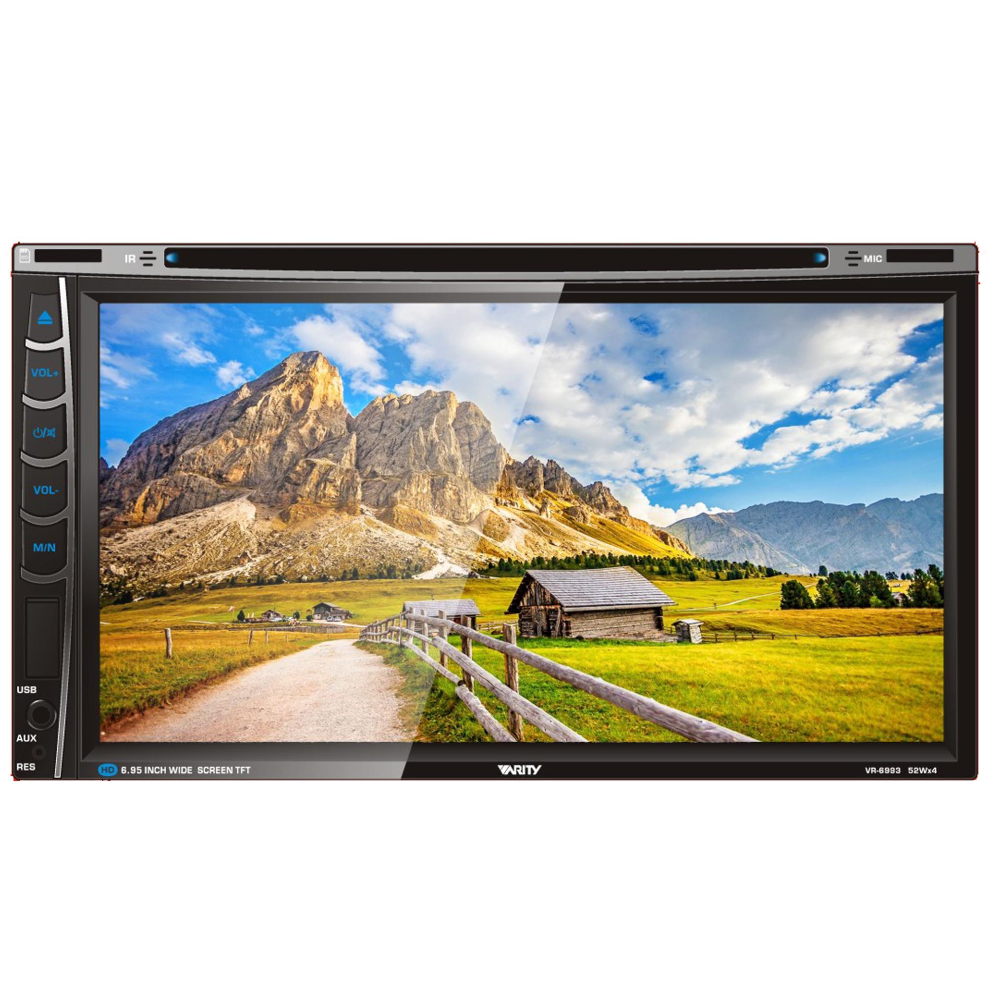 Varity VR 6993M Autolink integrasi smartphone dan Head Unit Double Din 6 95 inch Double Din Dvd Tv Monitor Touch Screen