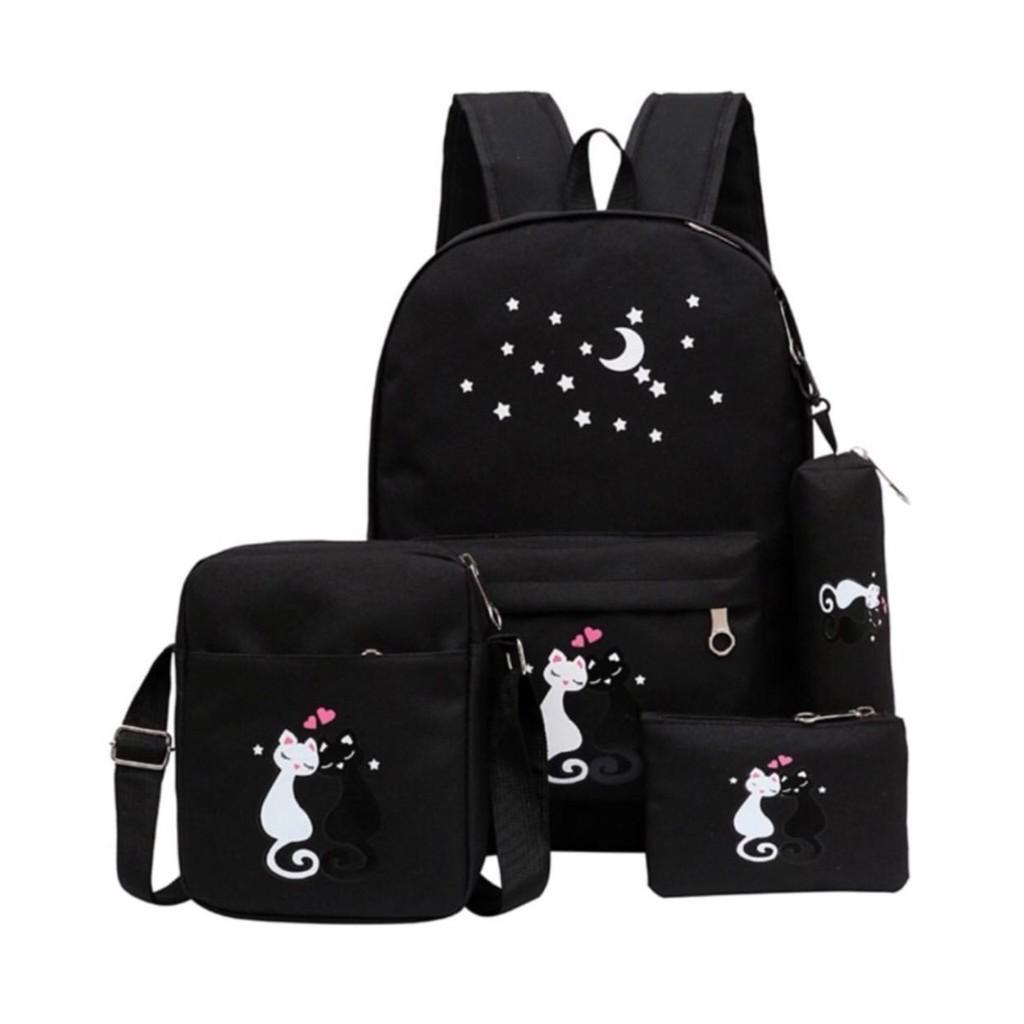 Fitur Sepatubandung Backpack Fashion Elle Tas Ransel Wanita Dan Source · BACKPACK FASHION MIAW TANPA GANTUNGAN