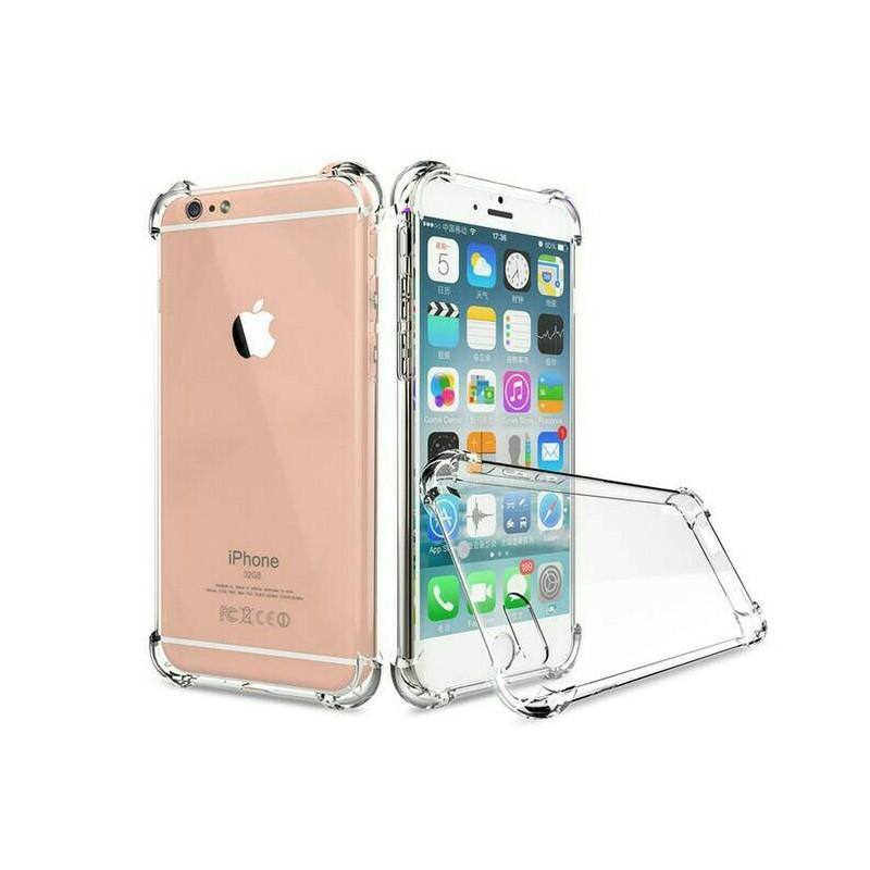 Case Anti Shock / Anti Crack Elegant Softcase For Apple iPhone 6 Plus / 6S Plus  White Clear - YG0709