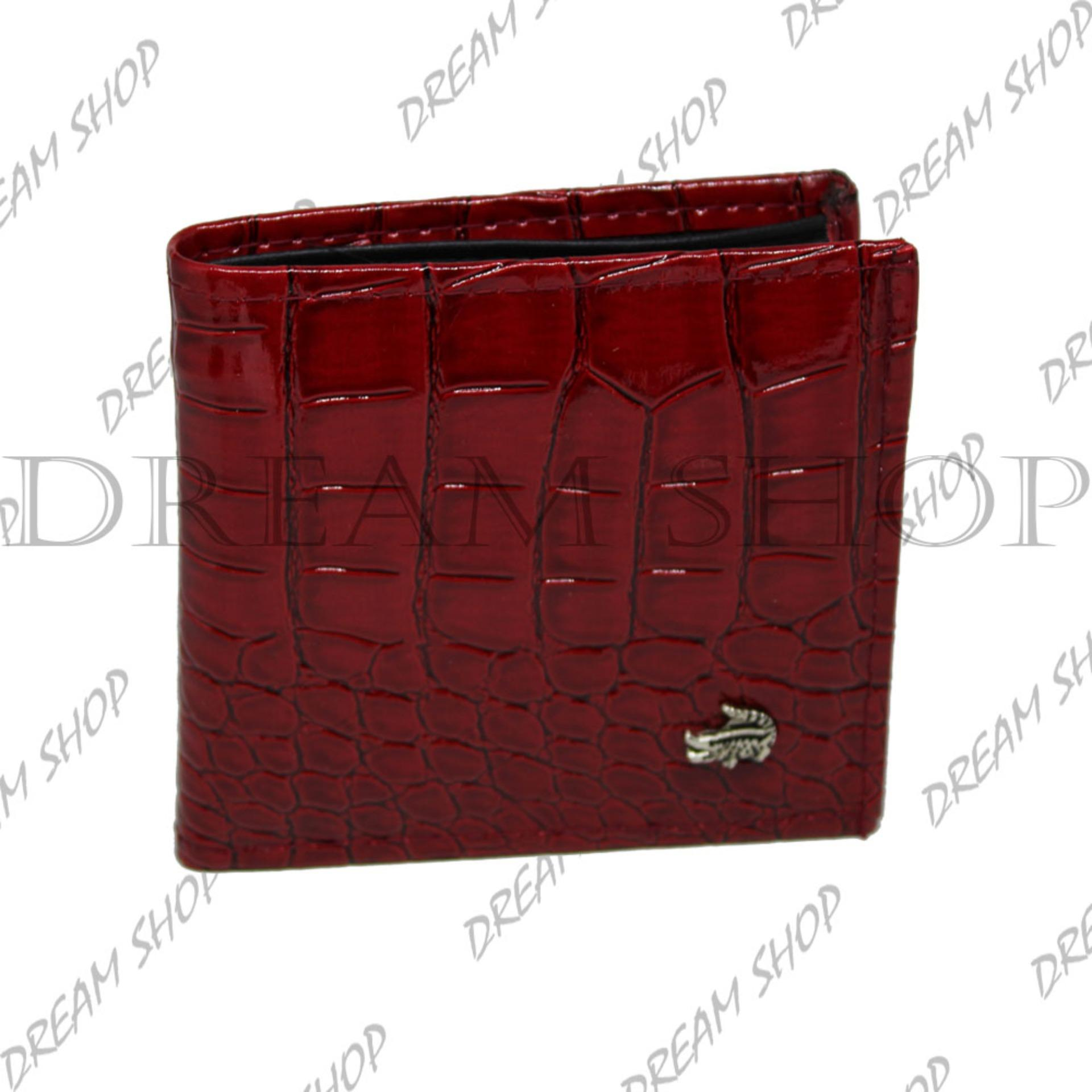 Dream Shop - Dompet Crocodile Pria Termurah - Red