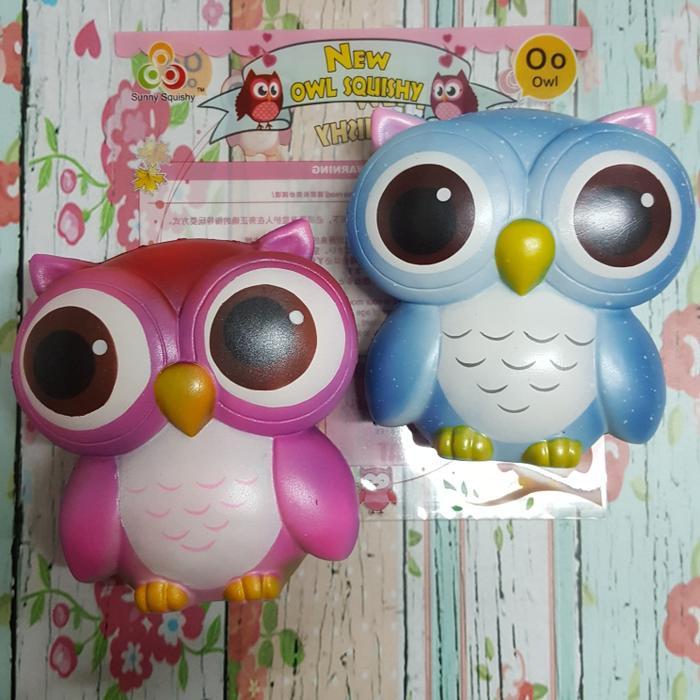 Squishy Licensed Big Eyes Rainbow Owl by Sunny SquishyIDR176000. Rp 176.000