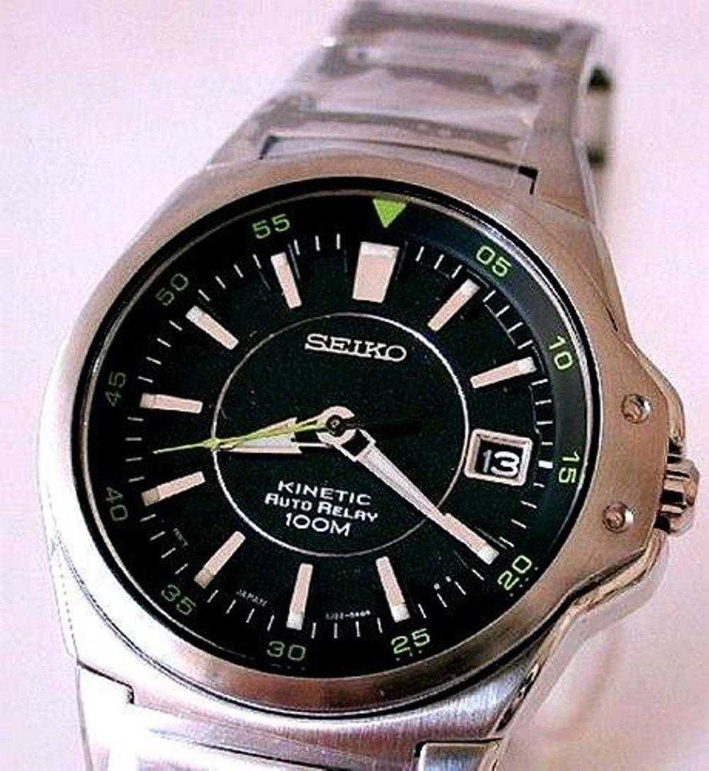 Buy Sell Cheapest Seiko Kinetic Srn074p1 Best Quality Product Ska683p1 Silver Dial Stainless Steel Bracelet Jam Tangan Pria Sma225 Strap