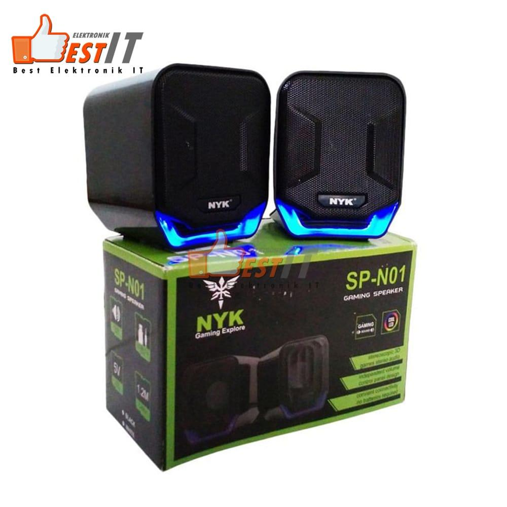 Nyk N01 Stereo Bass Usb 2.0 Speaker Pc By Best Elektronik & It.