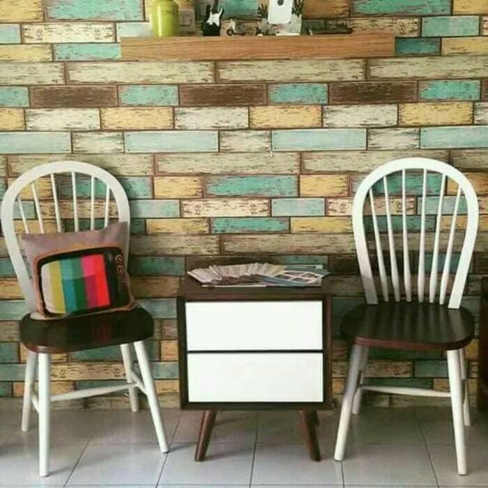 Promo   kursi teras vintage minimalis jati mebel jepara   Original