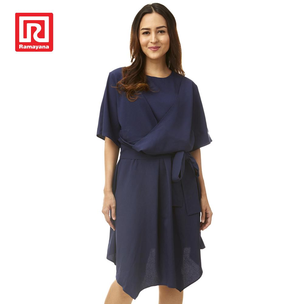 Ramayana - Nagita Slavina x Chapter 9 - Monica Dress Navy