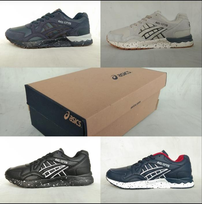 Sepatu Cowok Asics Gel Lyte III Running Casual Sneaker Slip On Sports - HQdZeq