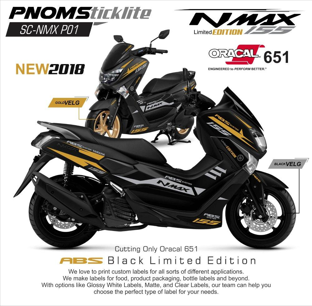 Cutting Sticker Nmax gold -ngemall