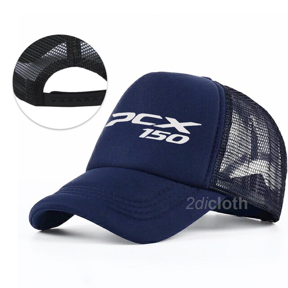 PROMOSI Topi distro PCX - Trucker PCX Premium -  Navy