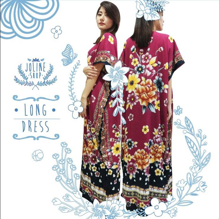 Special Price! Daster Kancing Long Dress Batik Kembang / Mama Hamil / Dress Hamil / Kemeja Hamil / Ibu Hamil Menyusui / Baju Hamil Kantor/ Baju Hamil Gaya / Baju Hamil Modern