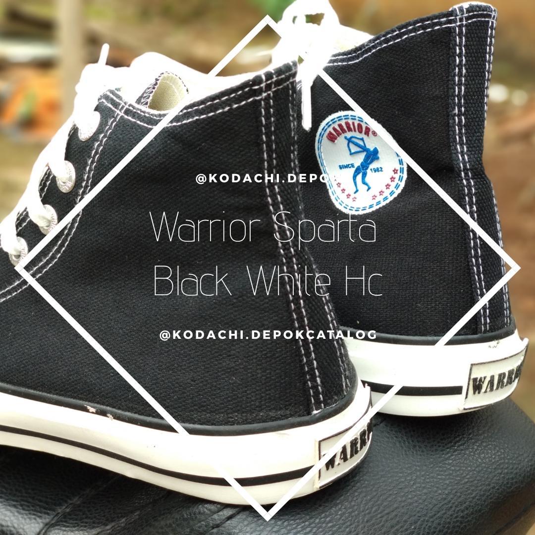 Buy Sell Cheapest Warrior Sparta Blue Best Quality Product Deals Sepatu Sekolah Black White Hc