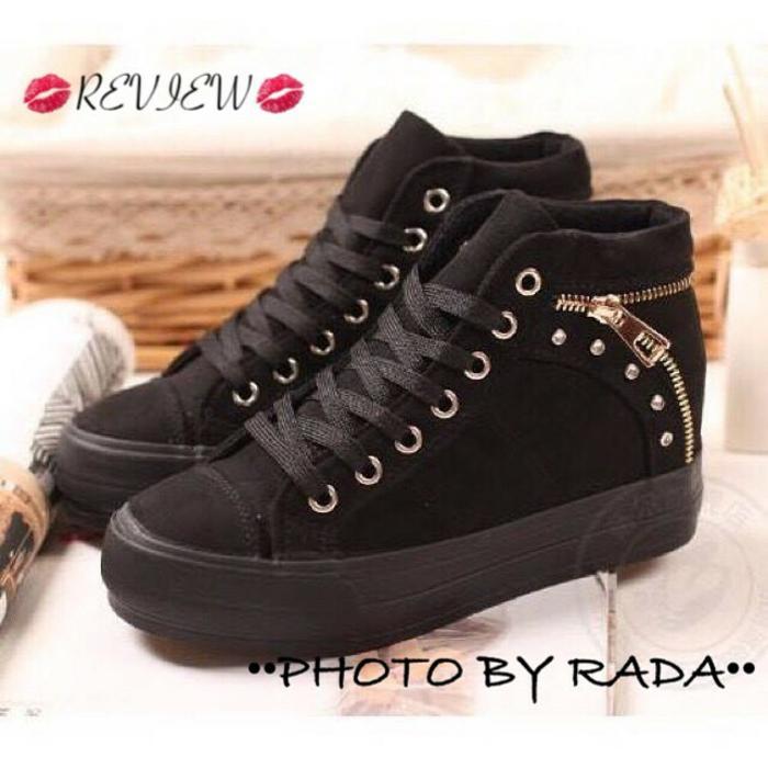 SEPATU KETS FR01 / WR01 HITAM / boot / sepatu murah / sepatu boots / sandal flat / sepatu sneakers / sandal keren / high heels unik / sepatu wanita / sandal wanita / sepatu sandal / sepatu berkualitas