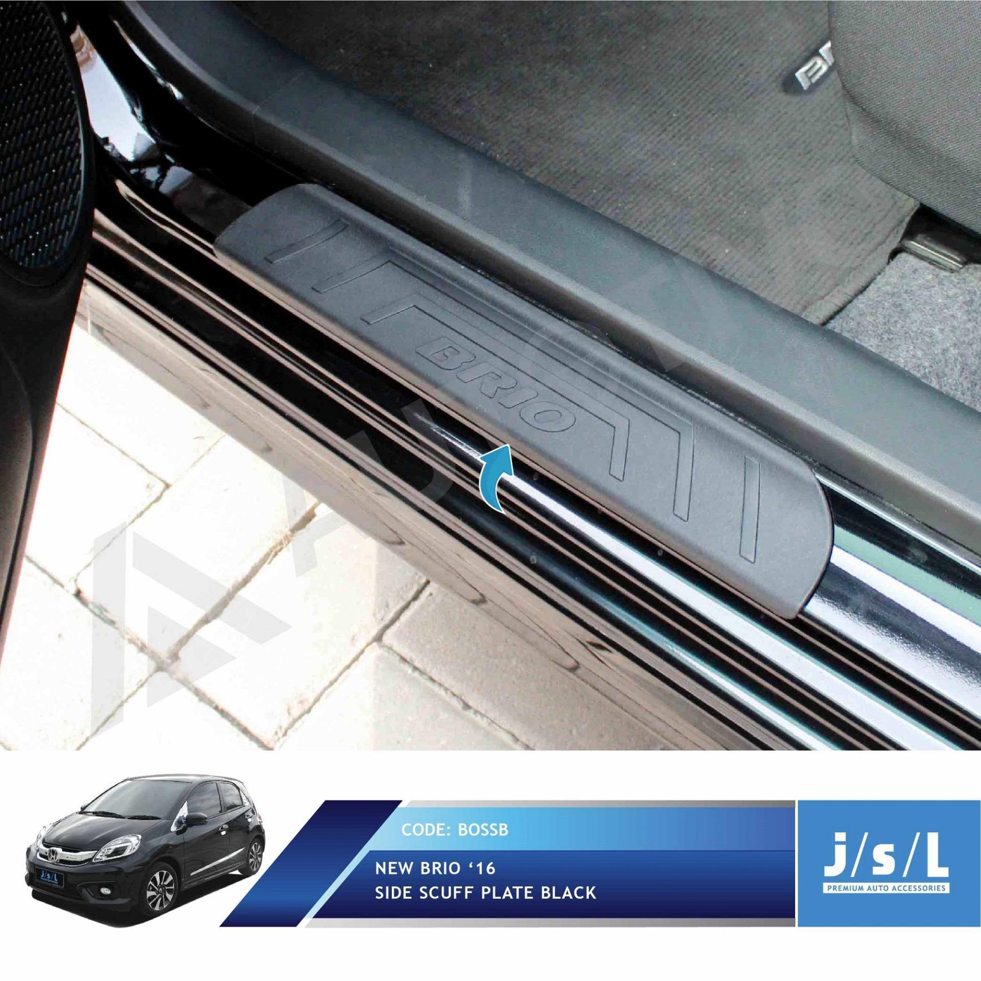 New Brio Sillplate Samping Hitam JSL / Side Scuff Plate Black