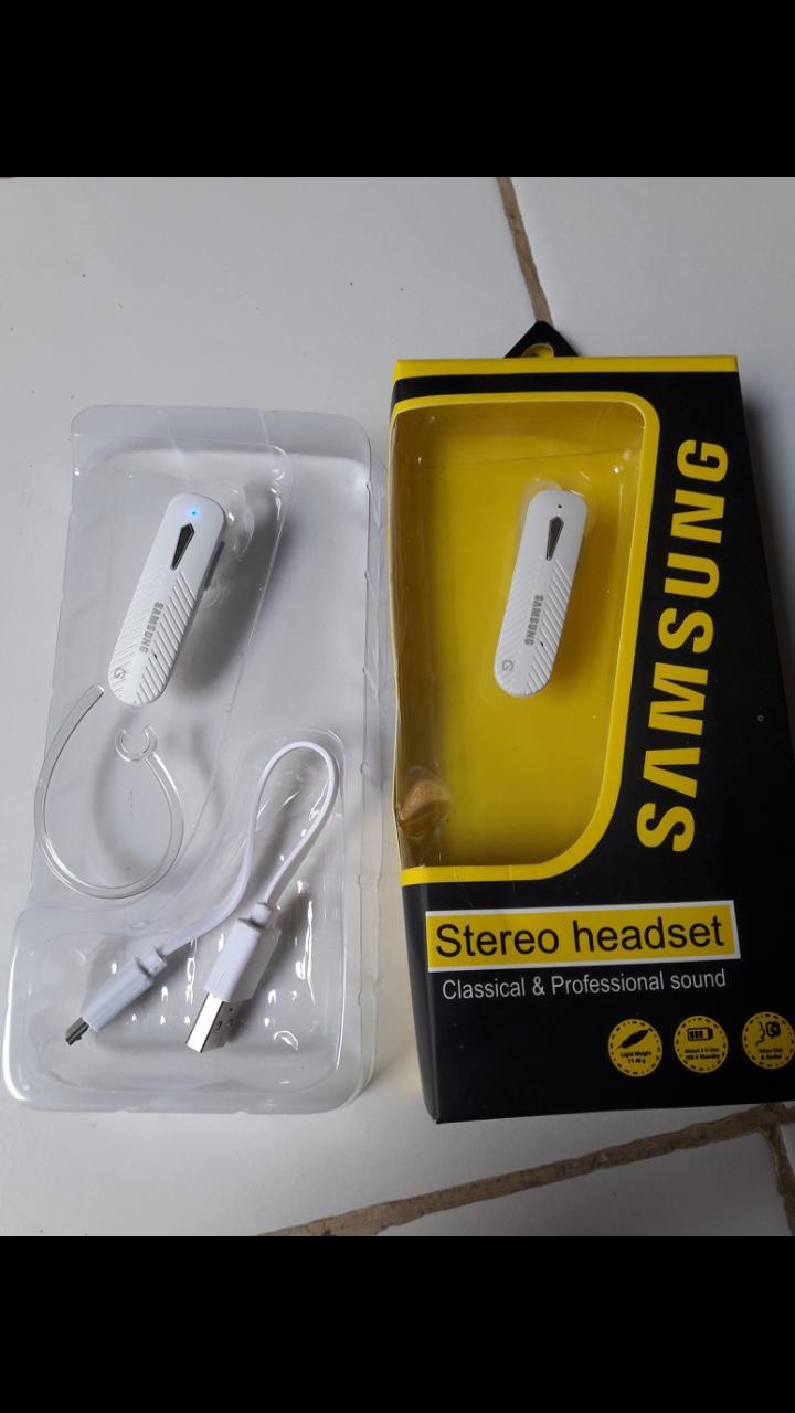 samsung single sebelah oem bluetooth headset bluetoot bluetot earphone stereo wireles in-ear Wireless handsfree