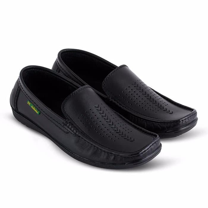 terbaru sepatu kulit pria pansus pria pantofel kulit jk collection JW -  IJuFEN 1a9b8a8e85