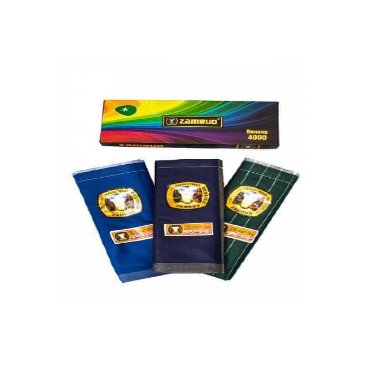 Grosir 10pc - Sarung Tenun Zamrud Rainbow