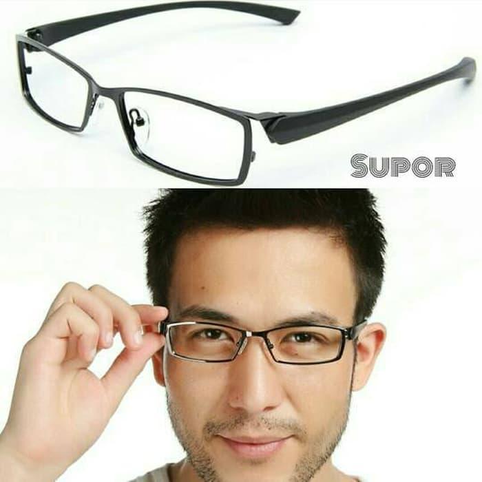 kacamata Korea  Sport Titanium FF2 + LENSA ESSILOR PHOTOCHROMIC