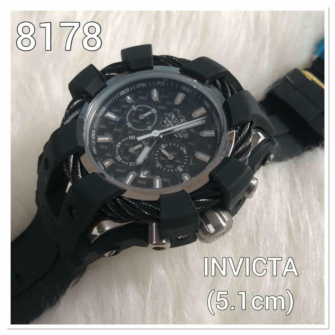 Jam Tangan Invicta Original Terbaru Murah Expedition 6658fubl Chronograph Watch Pria Strap Kulit Hitam 8178