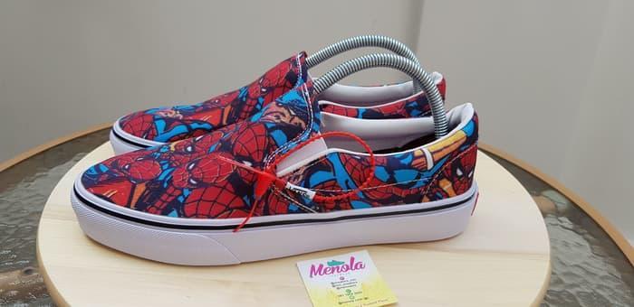 HARGA SPESIAL!!! Vans X Marvel Slipon Spiderman