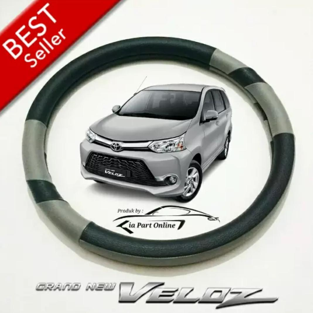 Cover Stir atau Sarung Setir Mobil Toyota AVANZA VELOZ (All Merk TOYOTA juga Cocok & Bisa)