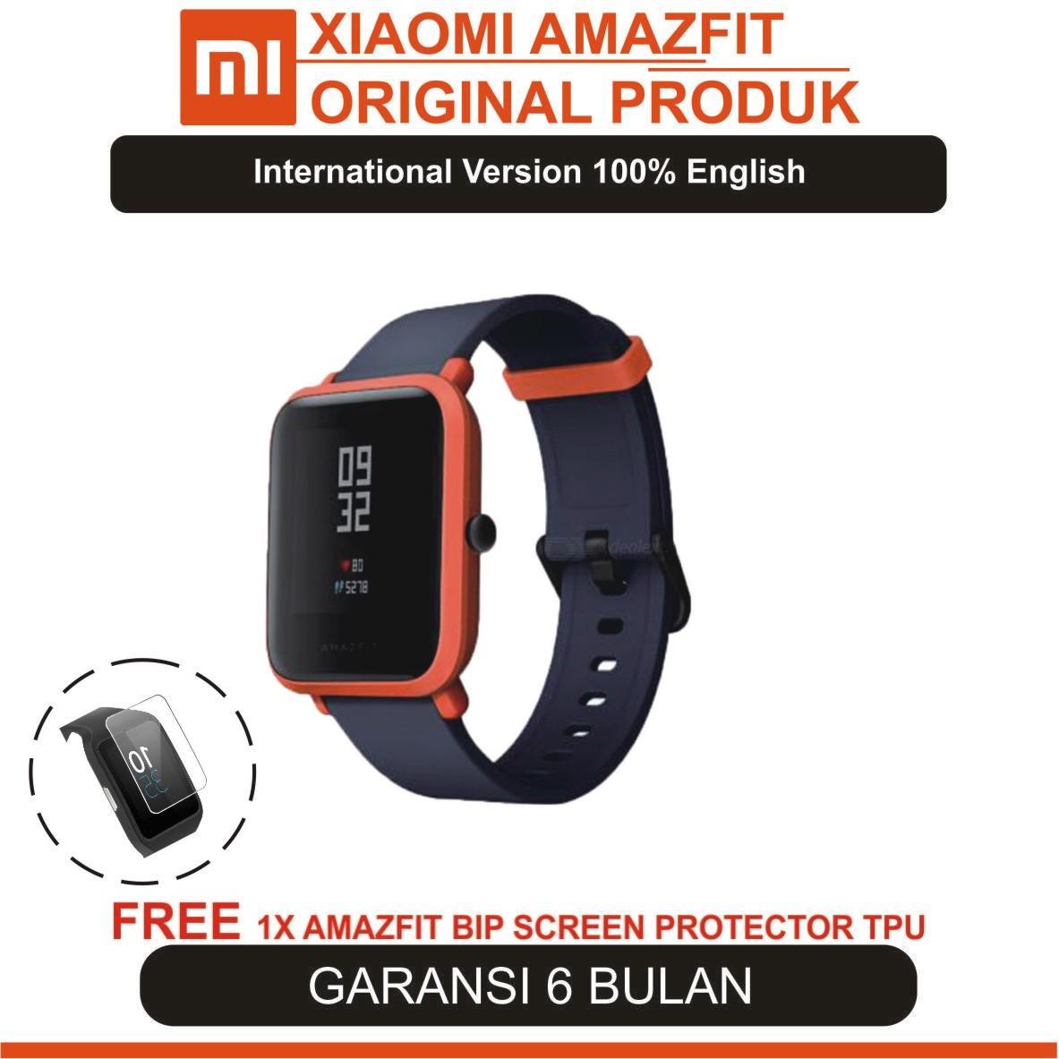 Harga Jam Tangan Xiaomi Terbaru 2018 Huami Amazfit Cor International Version Hitam Smart Watch Bip Bit Pace Waterproof Gps Compass English Garansi Resmi