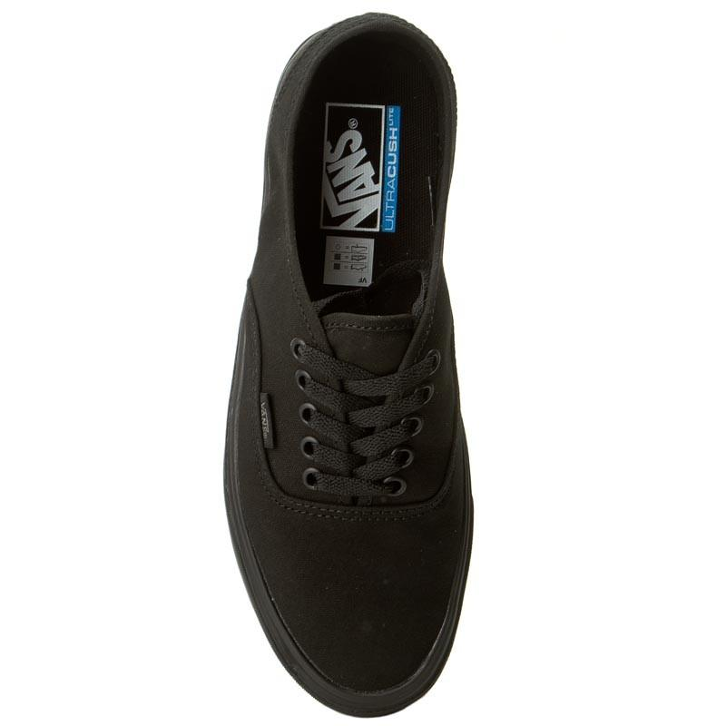 Sepatu Vans Authentic Lite Canvas Black with Ultracush
