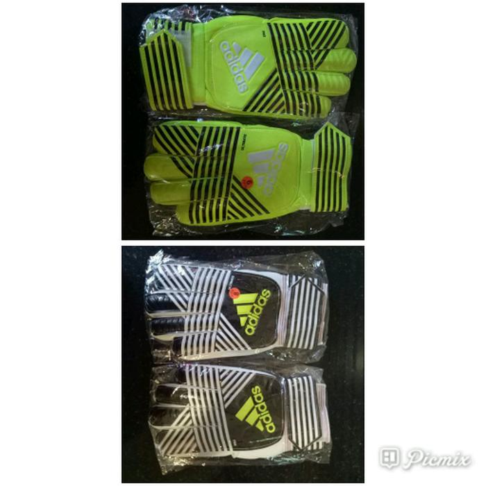 Best Top Seller!! Sarung Tangan Kiper Adidas Garis Import - ready stock