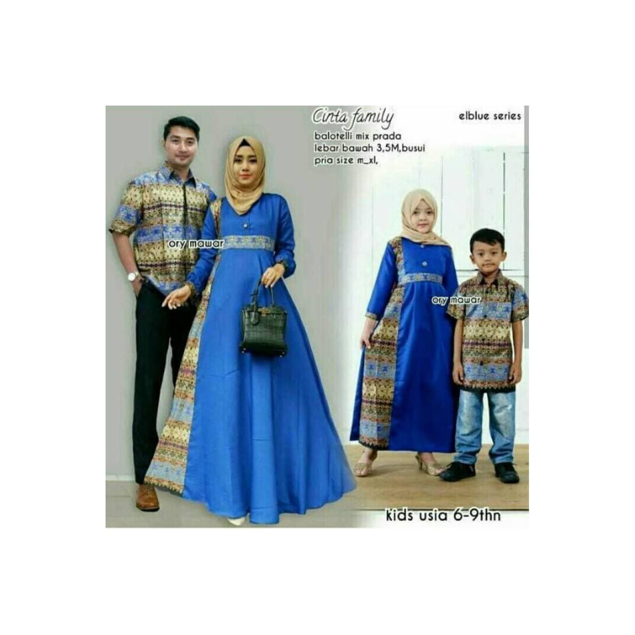 Batik anak / sarimbit family plus anak couple batik Berkualitas