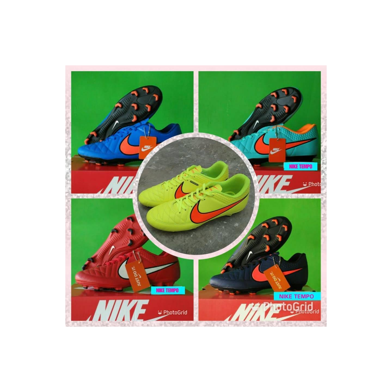 SALE Bonus Deker Sepatu Bola Nike Tempo Kualitas Gra Ori Awet dan Nya