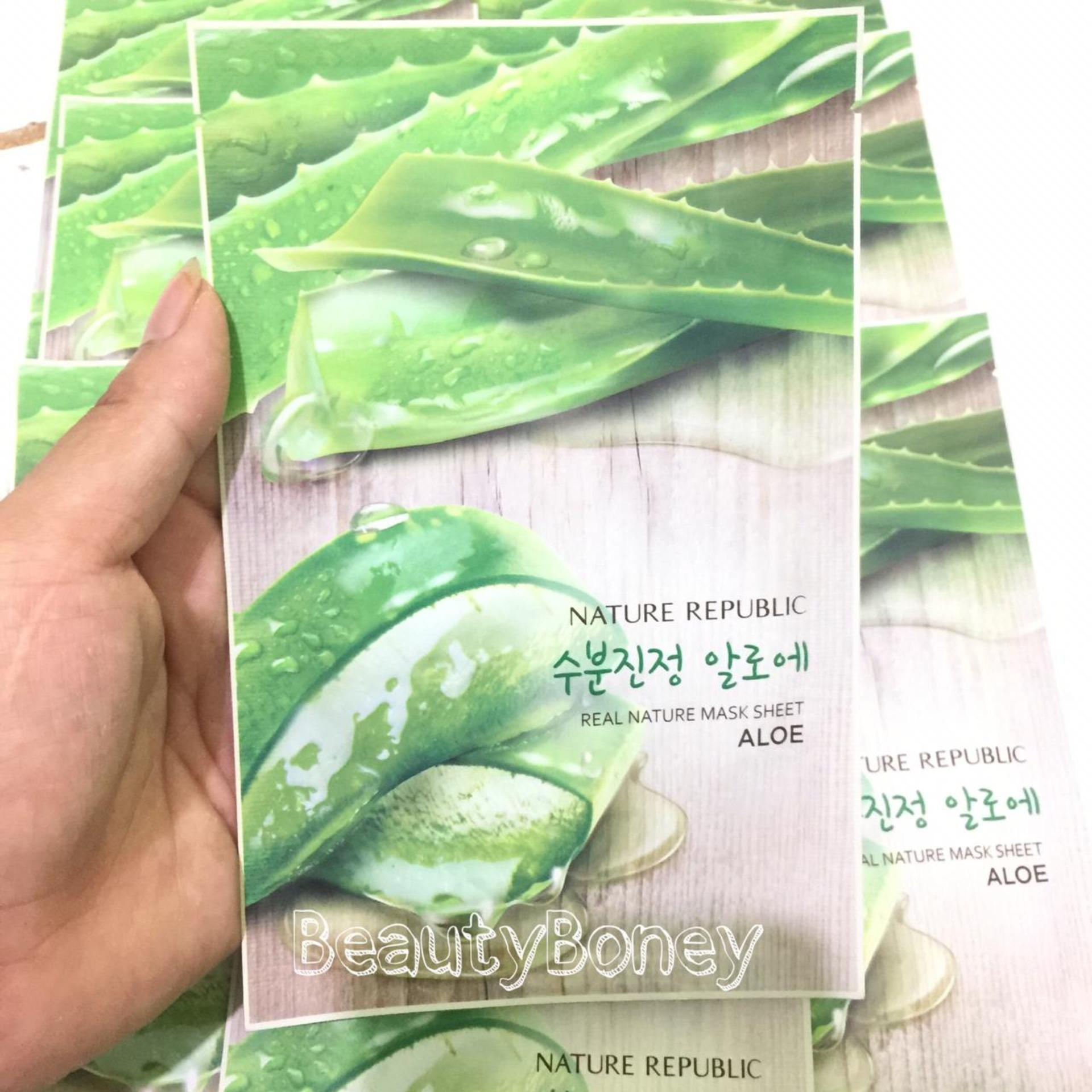 Buy Sell Cheapest Mask Sheet Real Best Quality Product Deals Innisfree Its Squeeze Masker Wajah Nature Republic Aloe 23ml1
