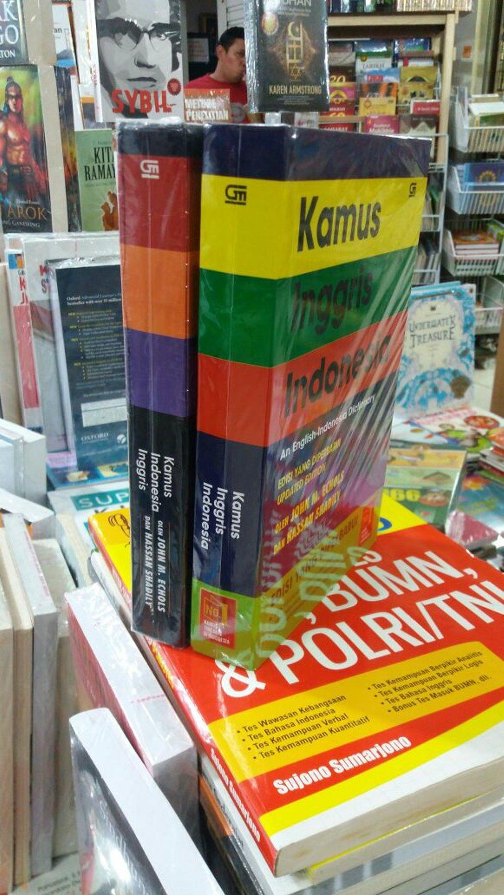 Kamus Bahasa Inggris 2 Buku Rama Store By Ramastore.