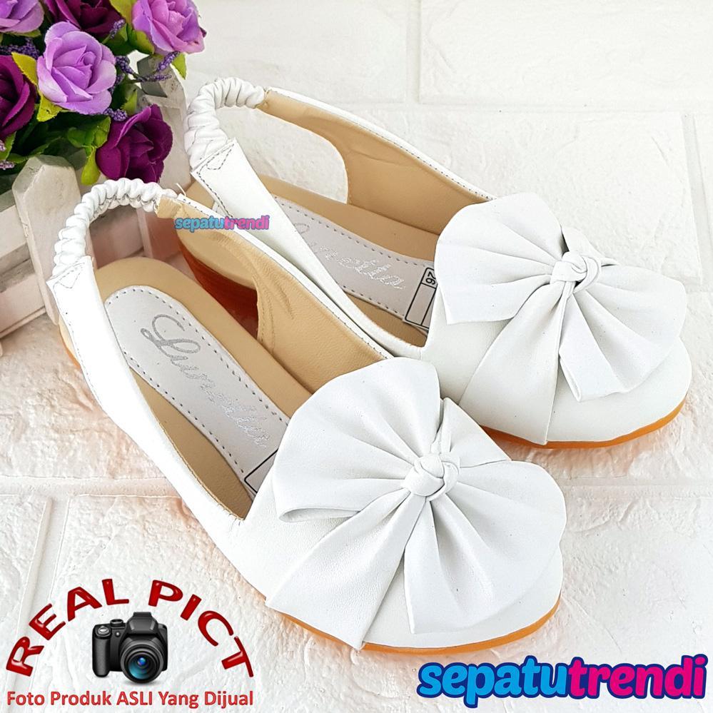 Trendi Sandal Anak Perempuan Simpul Kipas ATSDLPTA