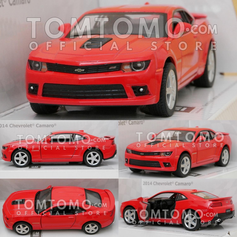 Chevrolet Camaro '14 Tomtomo Diecast Miniatur Mobil Mobilan Sedan Sport Kado Ultah Mainan Anak Cowok Laki Laki Aksesoris Interior Dashboard