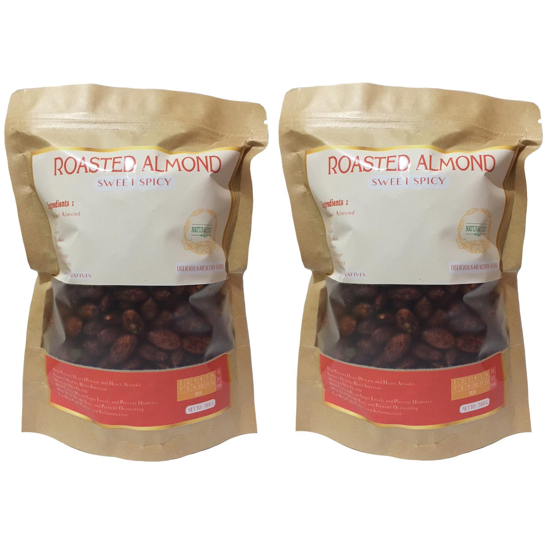 Beli Kacang Bumbu Pedas Store Marwanto606 Moring Cimol Kering Original Ampamp Almond Panggang Manis Daun Jeruk 1 Kg