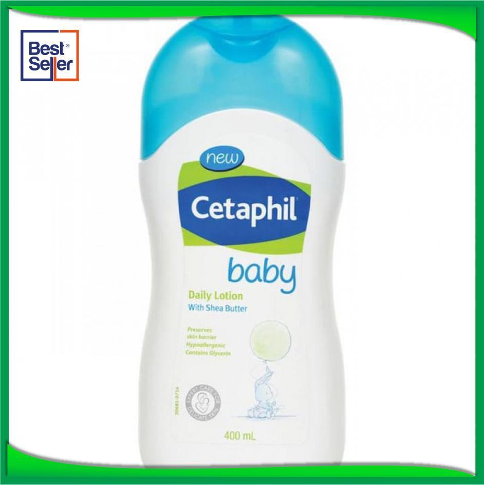 Cetaphil Baby Daily Lotion 400ml - Produk Cream Bayi Pas Nyaman Untuk Bayi - BJ47882