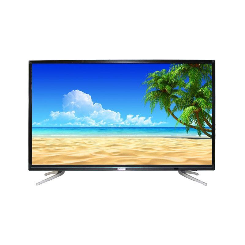 """Coocaa LED TV 43"""" 43E2A22G – Hitam - Khusus Jadetabek"""
