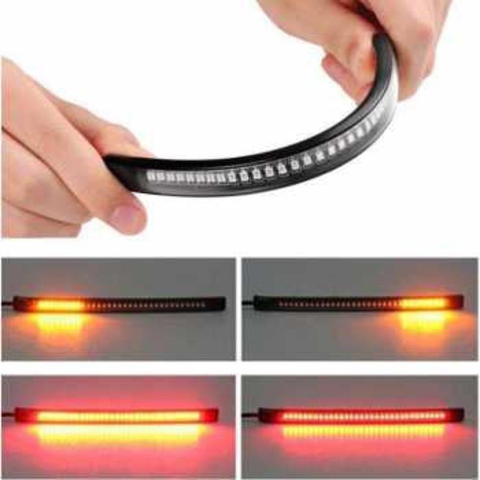 Lampu Led Strip Flexibel Rem Sein Sepeda Motor Custom Backlight Box
