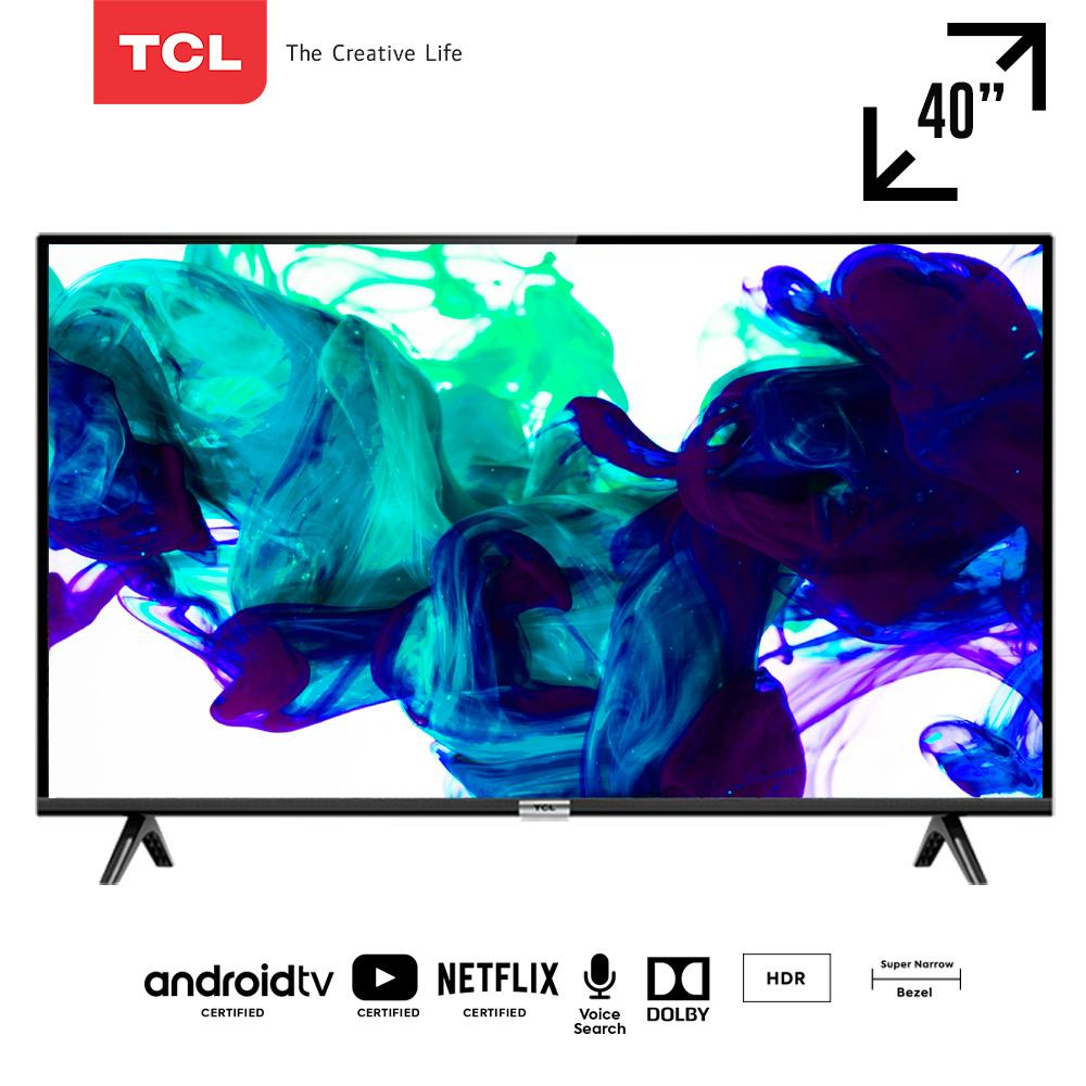 TCL 40 inch Google certified Smart FHD TV with AI & Dolby Sound (model 40A3)