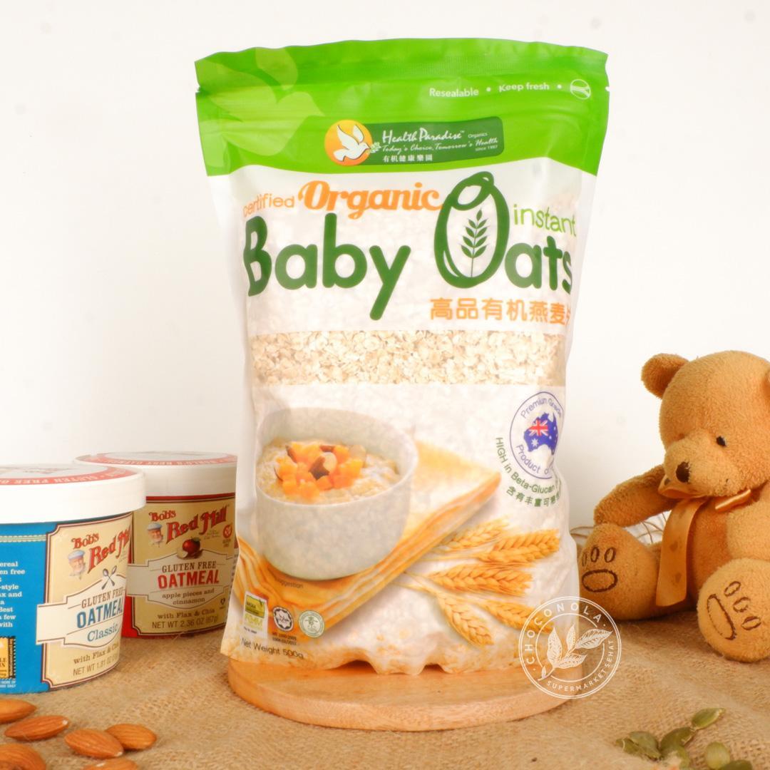 Jual Oatmeal Organik Terbaik Paket 3 Pcs Naraya Oat Choco Bermacam Rasa Organic Instant Baby Oats 500 Gram Health Paradise