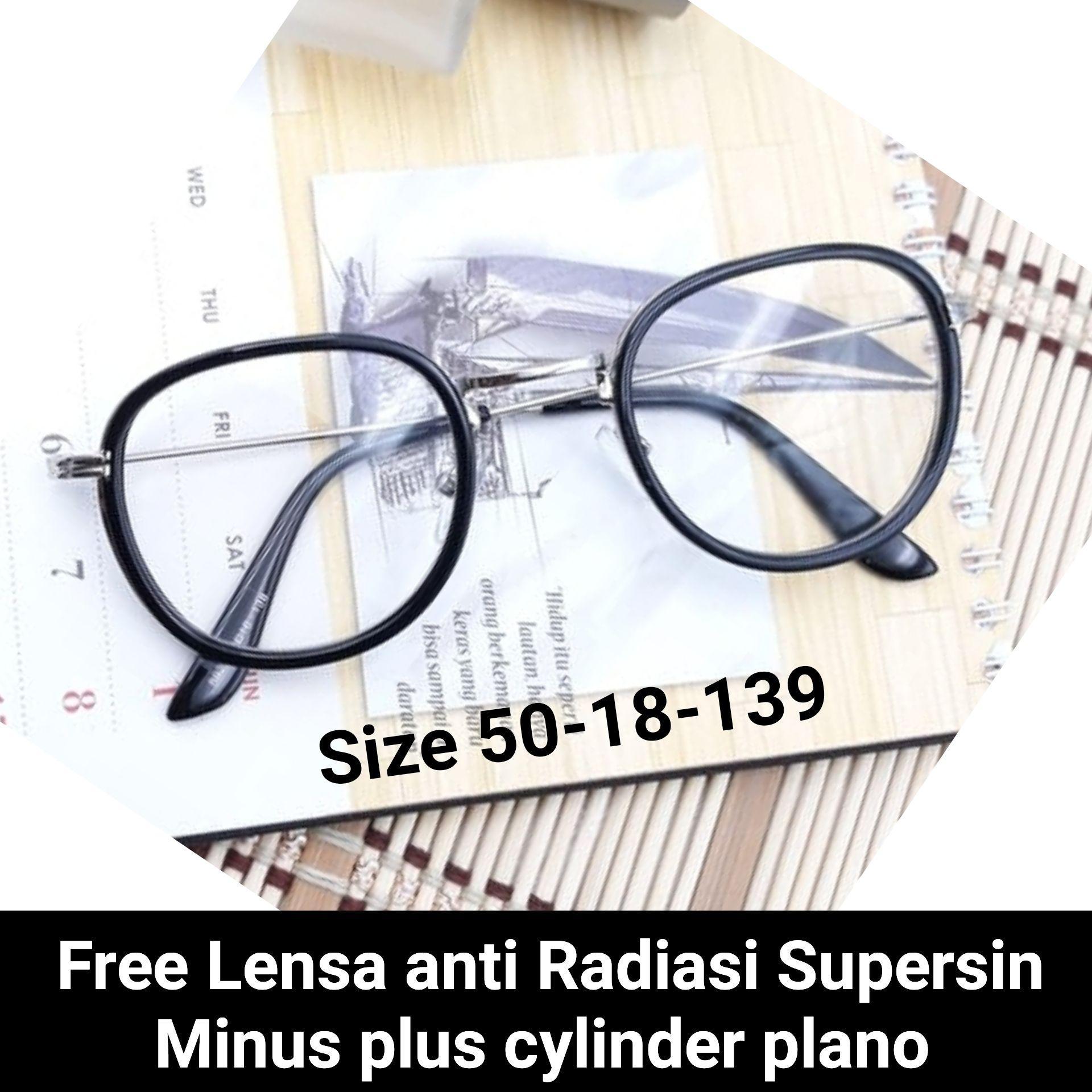 Frame kacamata minus 818 kacamata baca minus   plus  cylinder kacamata anti  radiasi f31ef425c2