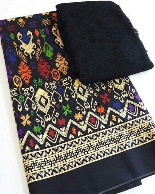sixmo - setelan kain satin batik ceker bali dan brokat lembaran bahan kebaya kutubaru kebaya pesta kebaya modern kebaya pengantin kebaya wisuda bahan rok lilit