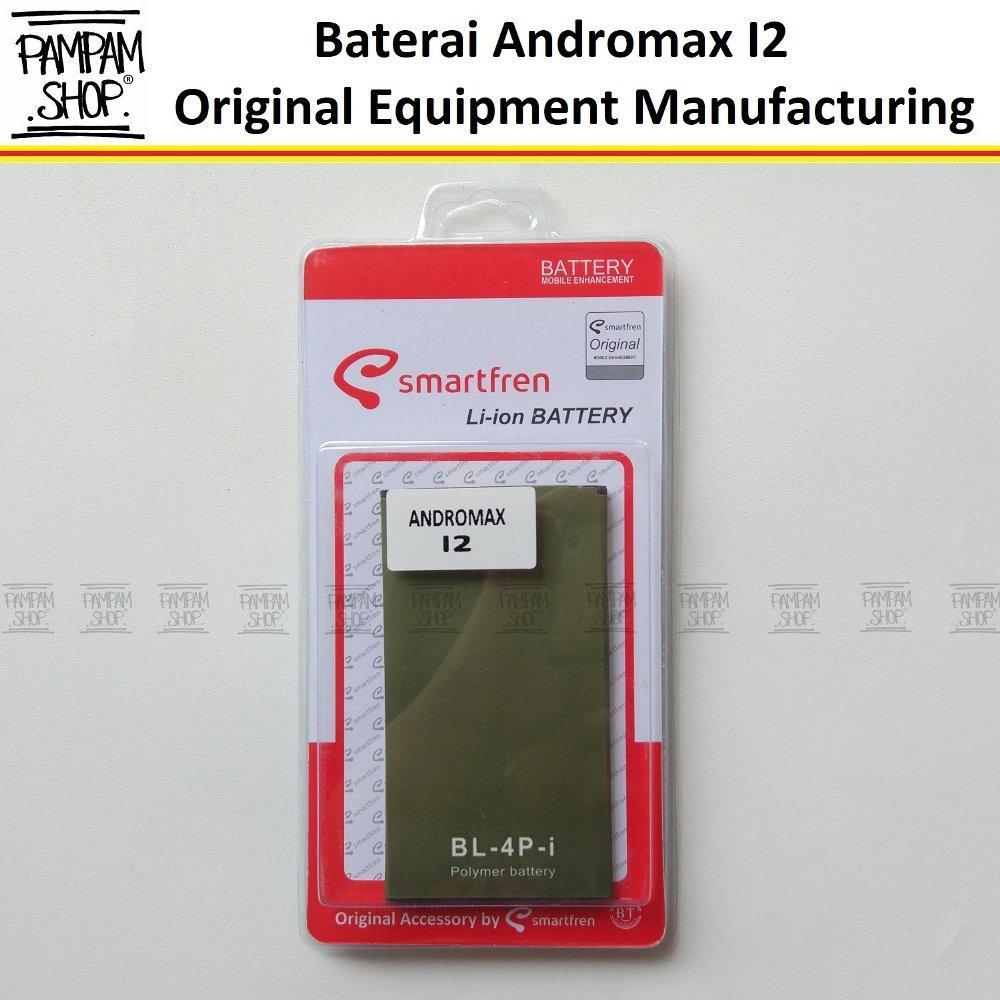 Baterai Handphone Smartfren Andromax I2 Original Double Power 100% OEM BL4Pi   Batrai Batre Battery