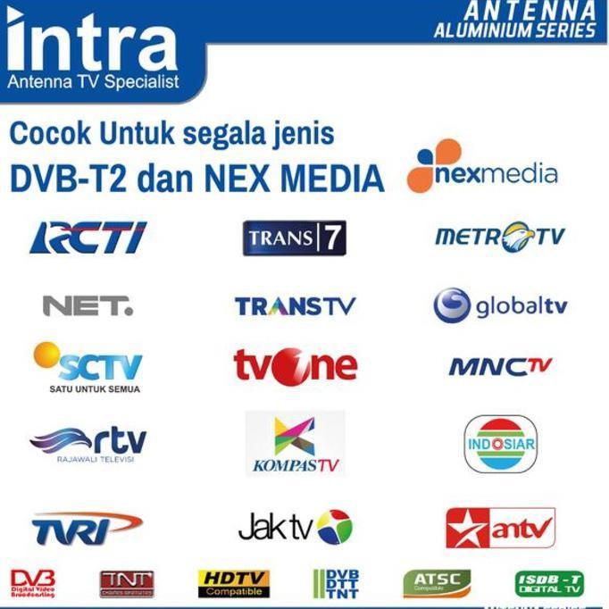 GRATIS ! Antena TV Indoor Digital INTRA INT-HD14 Best FOR LCD & LED TV