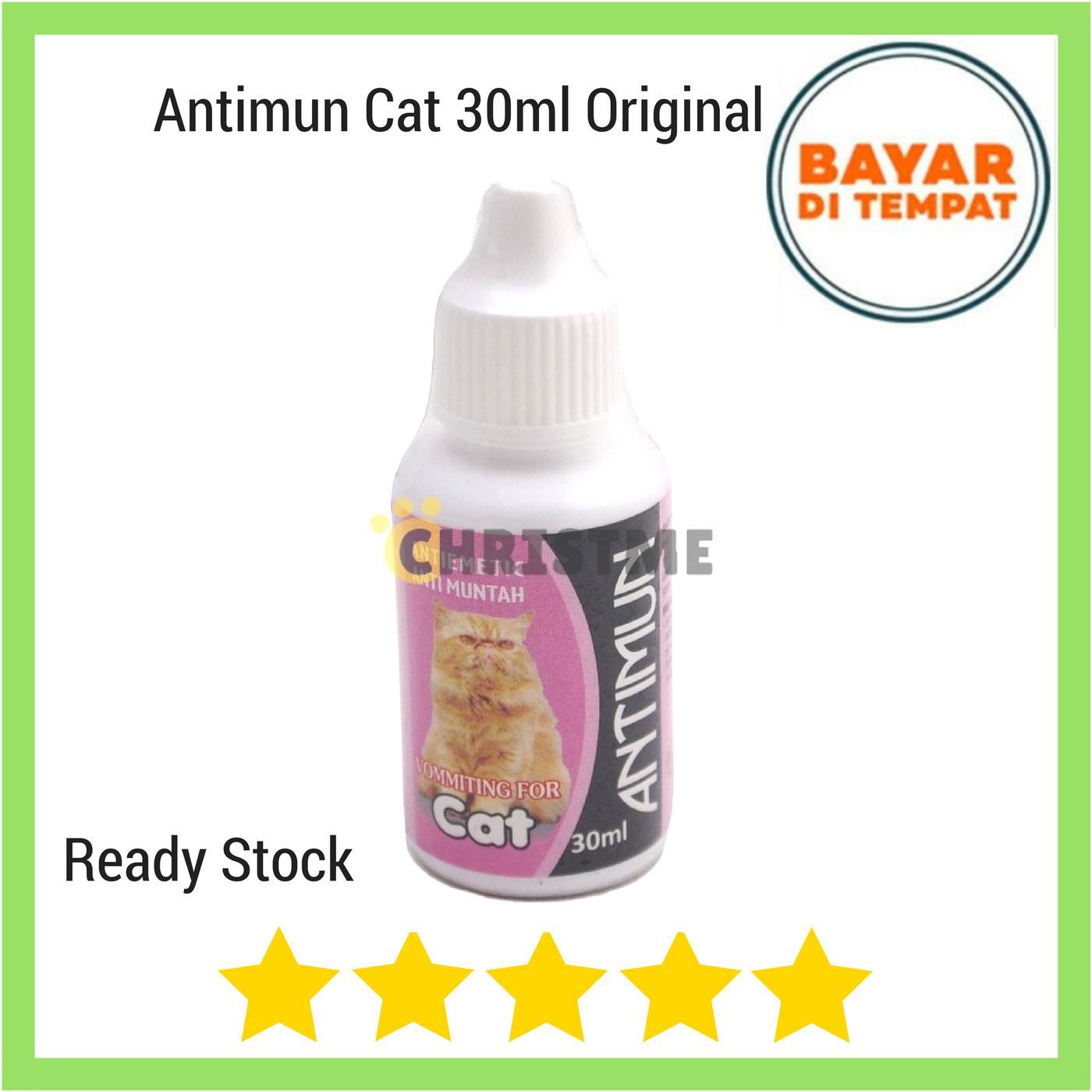 Antimun Cat 30 Ml - Anti Muntah Pada Kucing By Christ Me.
