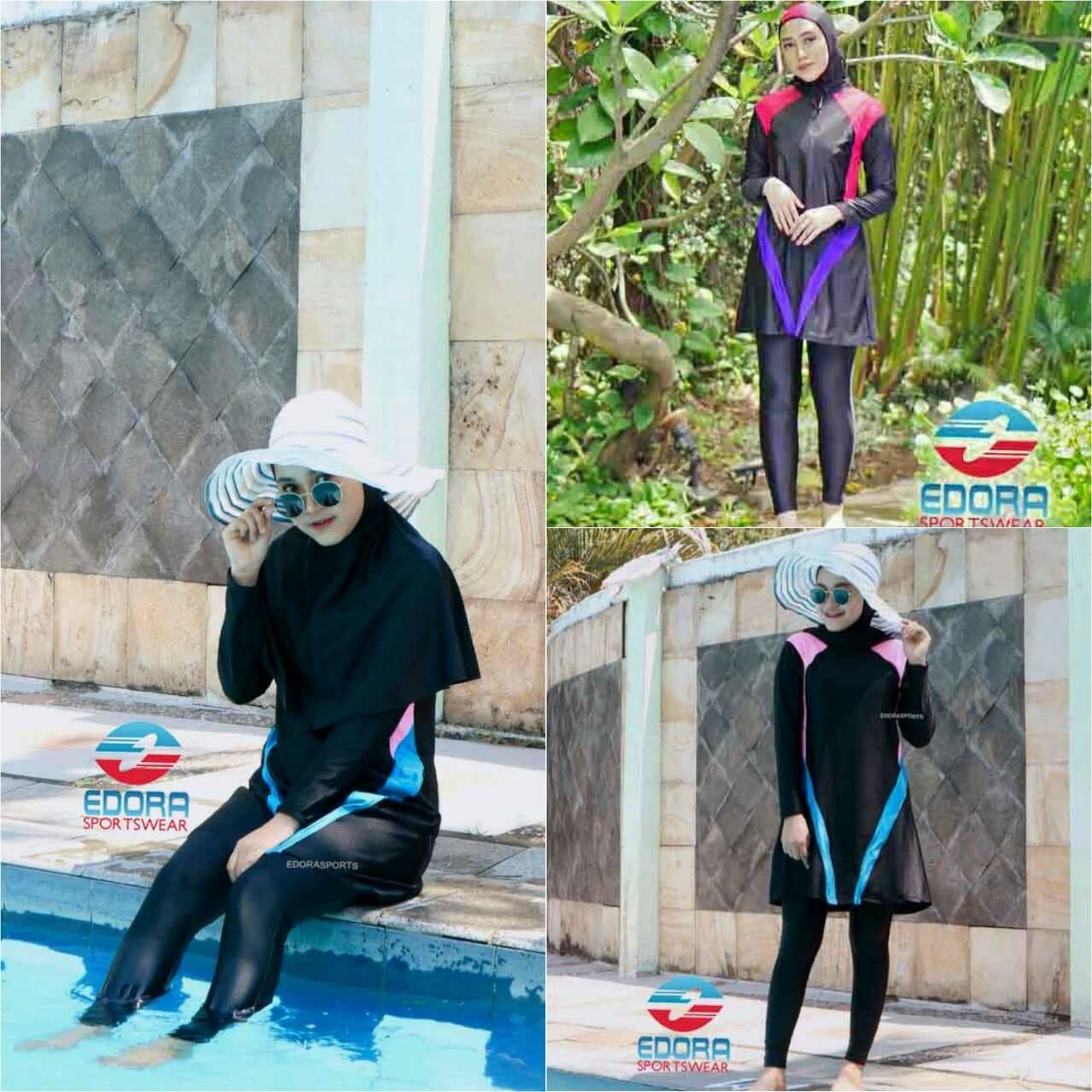 Edora Baju Renang Olahraga Muslim Dewasa  ES FCM 005